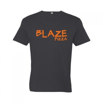 ORGANIC Alternative Apparel Men's Basic Crew - Blaze