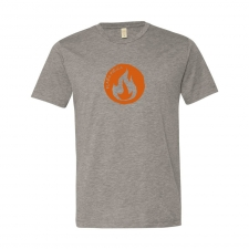 Alternative Apparel Men's Basic Crew - Flame